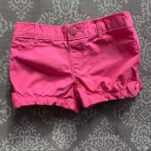 Gymboree Pink Bubble Shorts